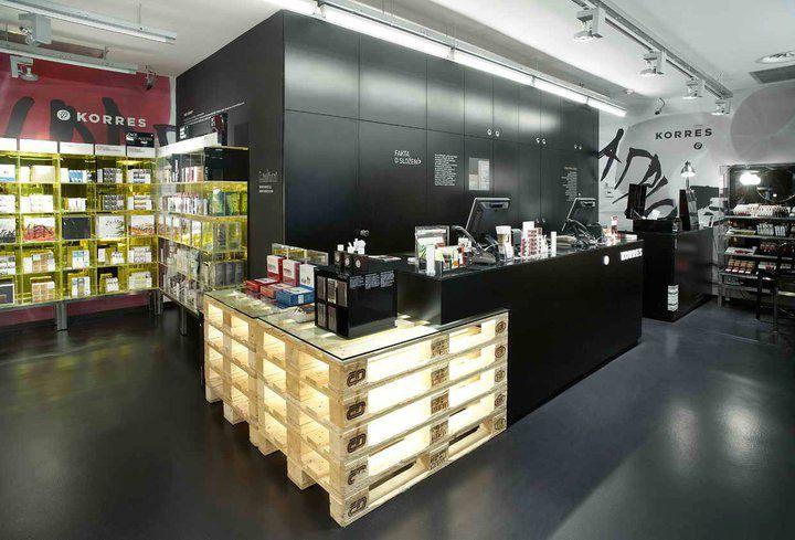 BEAUTY STORES! Korres Natural Greek cosmetics store, Prague »  Retail Design Blog