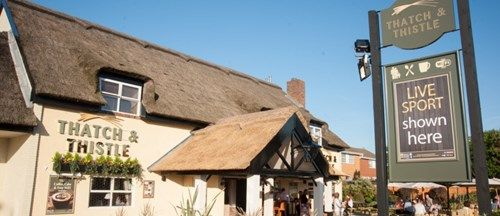 The Thatch & Thistle in Southport, Merseyside.