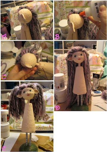 Paper Clay Faery Art Doll Tutorial                                                                                                                                                                                 More