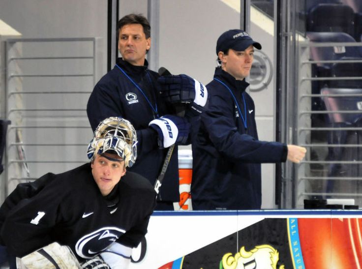 Glen, Brooks, Loik line playing at high level - The Daily Collegian: Men's Ice Hockey