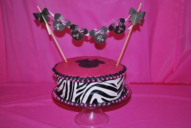 Zebra Cake Recipe Joy Of Baking: 17 Best Ideas About Little Girl Cakes On Pinterest