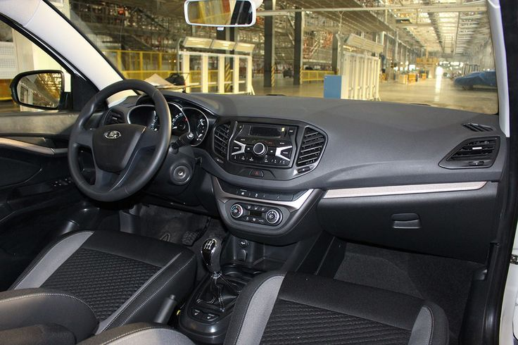 Production-spec #Lada #Vesta interior snapped – Spied -