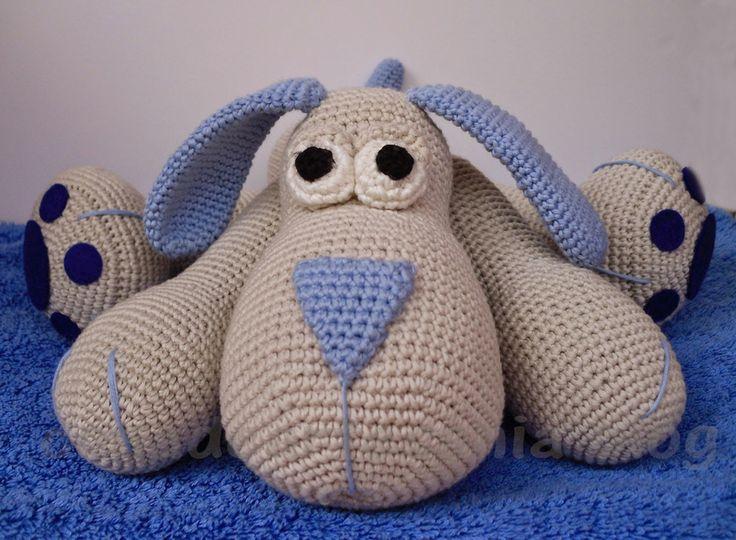 Амигуруми: Собака. Бесплатная схема для вязания игрушки. FREE amigurumi pattern…