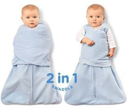 Halo SleepSack swaddle  The Halo® SleepSack® Swaddle replaces loose blankets in the crib that can cover your baby's face and interfere with breathing. In addition to helping your baby sleep safer, it helps him sleep better, too