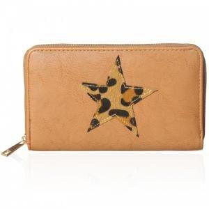 Bruine portemonnee met ster