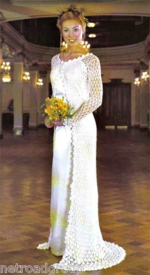 Vintage Lace Crochet Wedding Bridal Evening Prom Coat ...