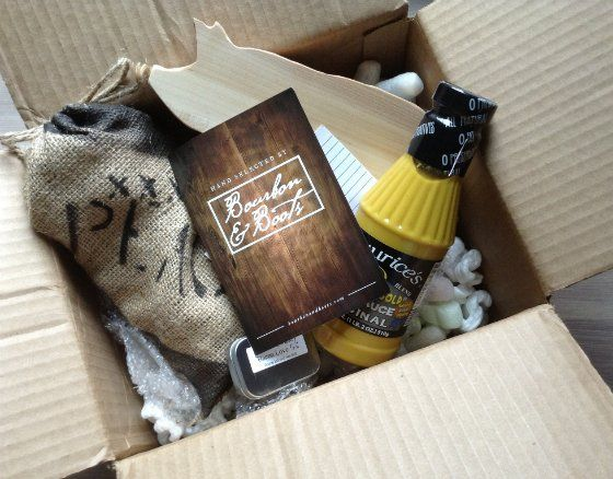 Bourbon and Boots Subscription Box Review - August 2013