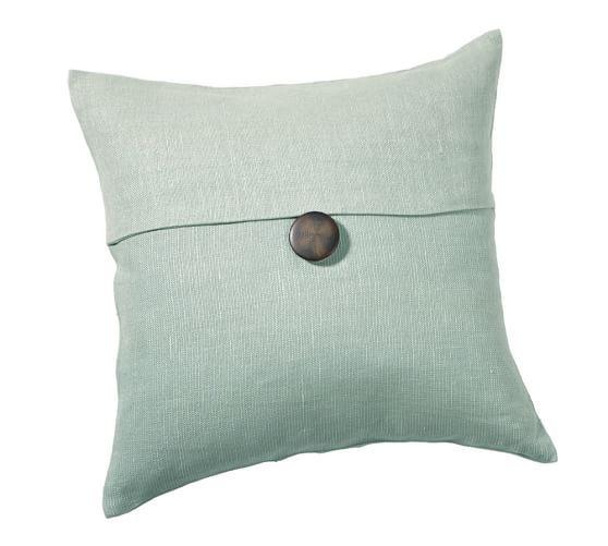 Throw Pillow Inserts Pottery Barn : Textured Linen Pillow Cover Pottery Barn USD25 Family Room Pinterest Linen pillows ...