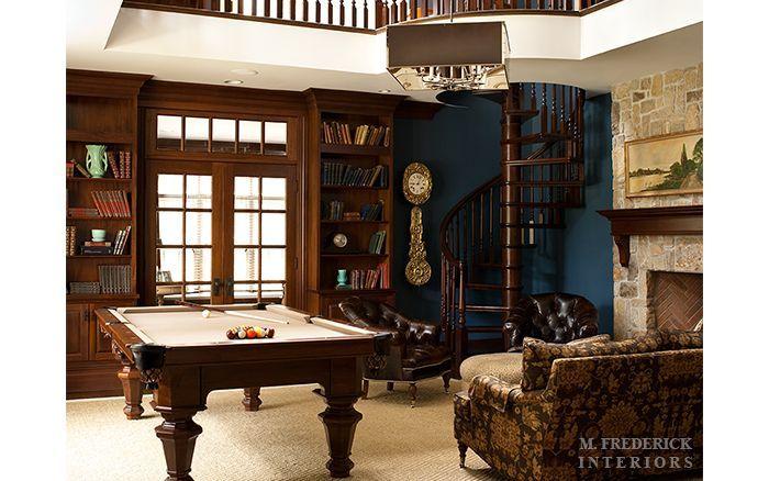 25 Best Billiard Room Designs Images On Pinterest