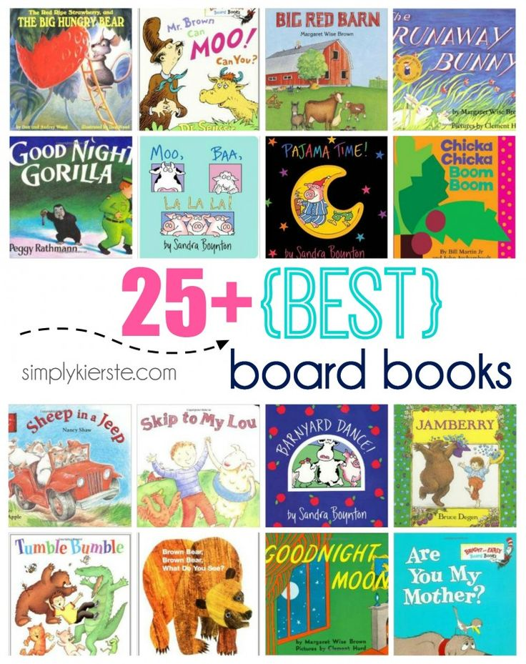 25+ Best Board Books | simplykierste.com #books #childrensbooks