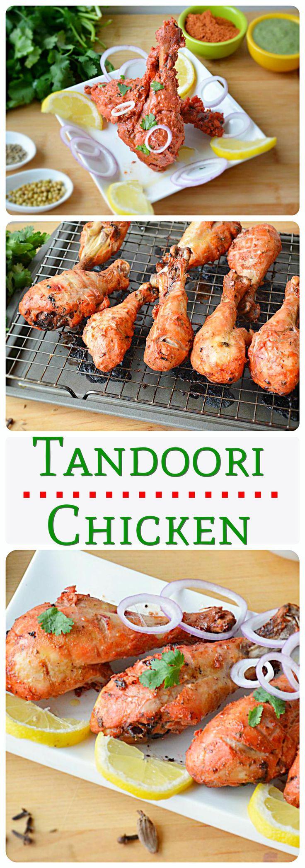 Tandoori Chicken without oven | Recipe | The secret ...