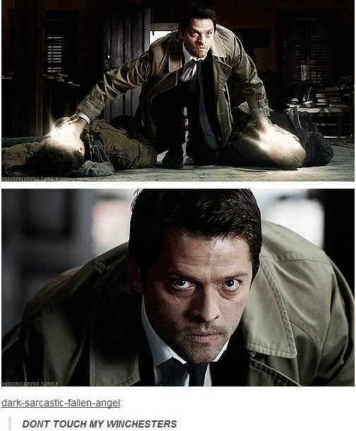 There are some moments where you truly see the righteous, and terrifying, warrior that Cas is. This was one of those moments.