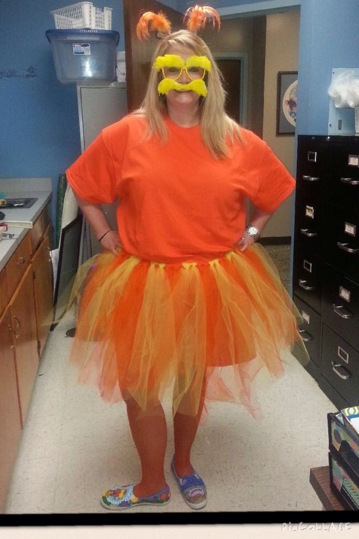 The Lorax costume                                                                                                                                                      More