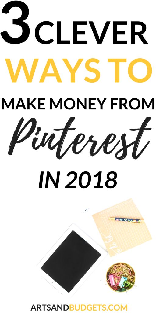 Looking for ways to make money on Pinterest in 2018? This post shares 3 Clever Ways To Make Money From Pinterest With Your Blog this year. | How to make money using Pinterest| Blogging tips | make money online | #blogging #Pinterest #pinterestmarketing #makemoneyonline