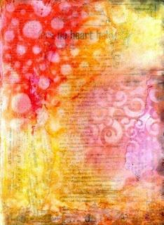 art journal background