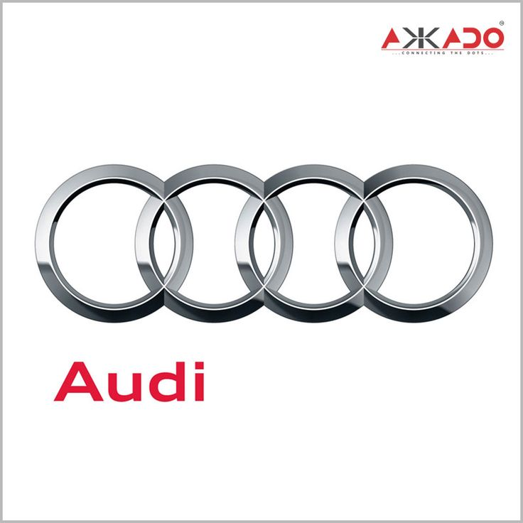 The four #rings in Audi's logo. What they symbolize? Click here to know: http://on.fb.me/1IQusX5 #Akkado #ConnectingtheDots #LogoStory #Audi