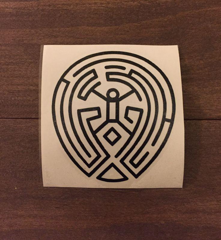 The maze westworld vinyl decal car decal laptop decal yeti decal macbook