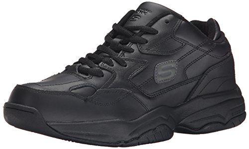 Skechers for Work Men's 76690 Keystone Sneaker * Review more details @ http://www.lizloveshoes.com/store/2016/06/03/skechers-for-work-mens-76690-keystone-sneaker/?st=030716012705