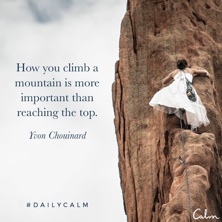 How you climb a mountain is more important than reaching the top. —Yvon Chouinard