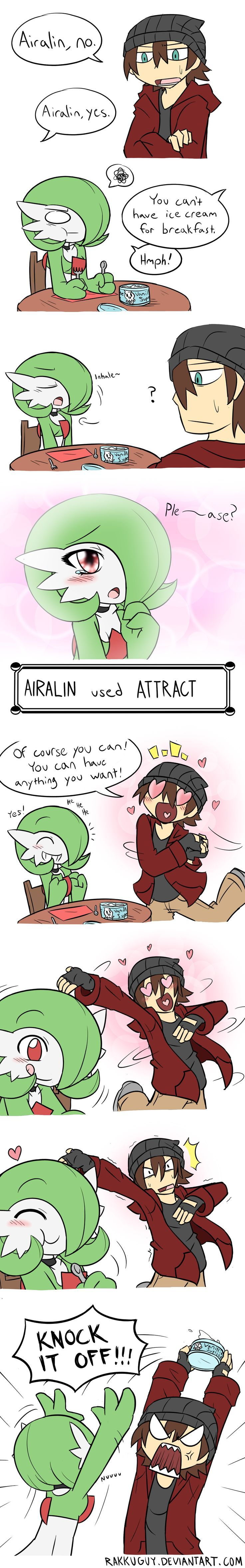 """""""Attract"""" can be a very persuasive move that can benefit your Pokemon. If they wish to learn """"Attract"""", let them do so at your own risk."""