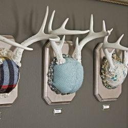 antlers: Decor, Wall Art, Antlers Mount, Crafts Ideas, Crafty, Diy Antlers, How To Mount Antlers, Crafts Tutorials, Boys Room