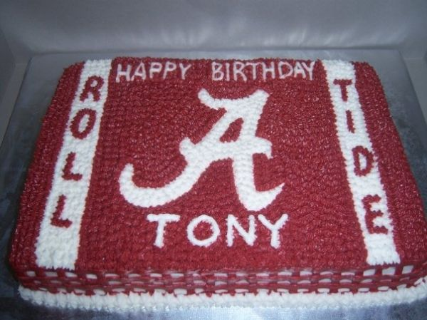 alabama birthday cakes