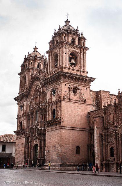 Igreja da Companhia de Jesus, Cusco. #Peru #Viagem                                                                                                                                                      Mais
