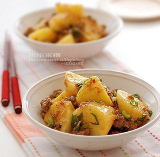 肉燥燜馬鈴薯