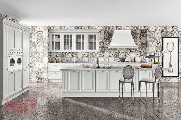 Кухонный гарнитур классика Амели - купить в интернет-магазине Hoff. Характеристики, фото и отзывы.