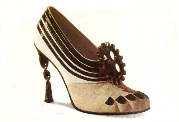Chaussure André Perugia. 1950.