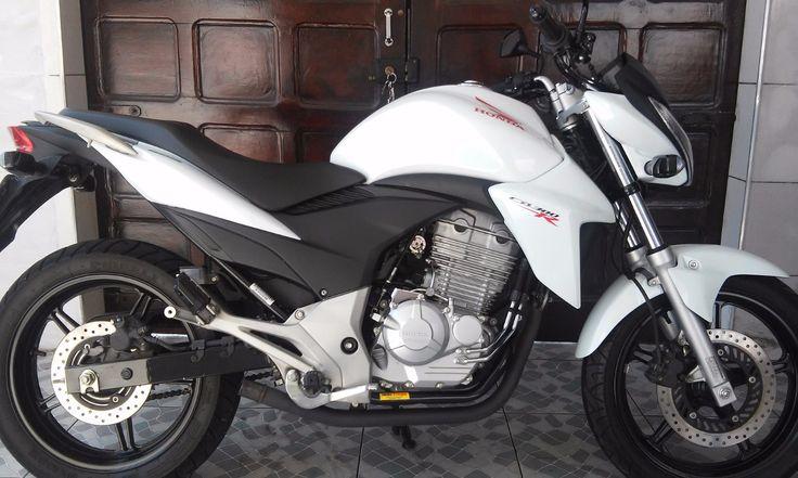 Honda Cb300r Branca - Ano 2014 - 7000 km - em Mercado Livre