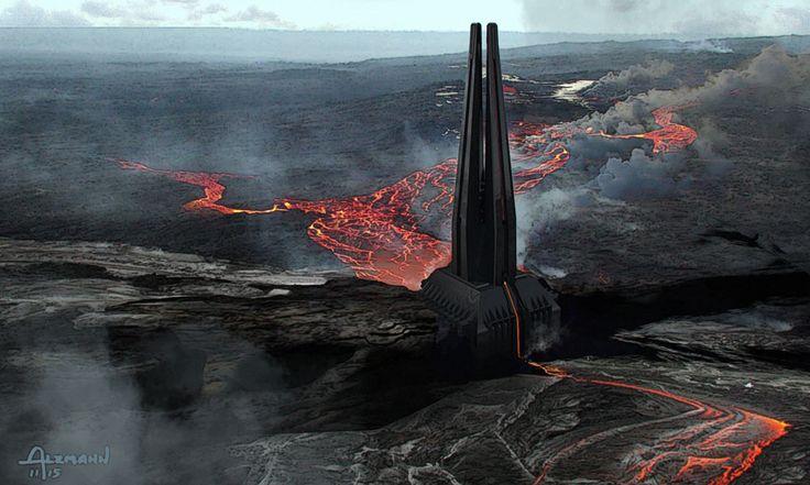 Vader's castle.