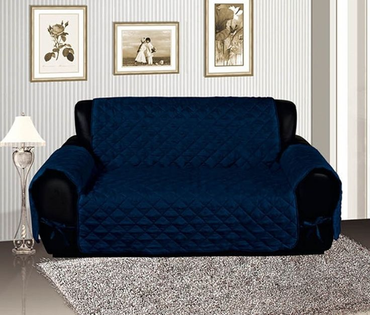 Chesterfield Sofa Blue Sofa Covers