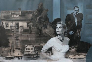 "Saatchi Online Artist Tom Keevill; Painting, ""Cap d'Ail"" #art"
