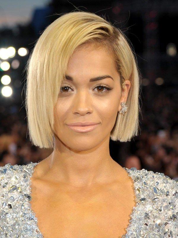 Beyonce? No Rita Ora does sleek bob. | Hair | Pinterest