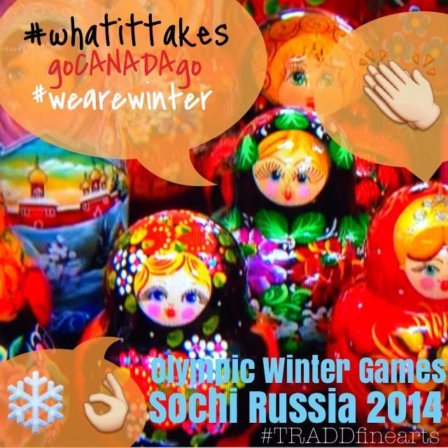 #olympicwintergames #wearewinter #teamcanada #gocanadago #goforgold #loveyourathletes #sochi2014 #whatittakes #slide #ski #skate  #madewithstudio