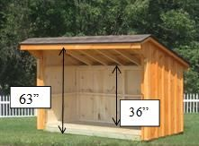 Firewood Storage Shed Manufacturers, Plans And Design   Stoltzfus Structures