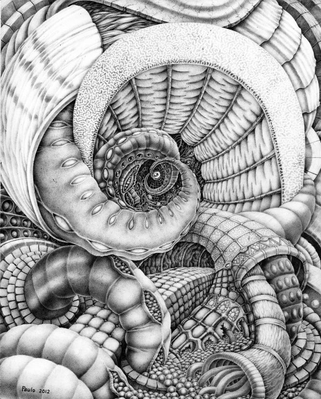 My Lymphoma by PauloCunha on deviantART. Not really zen but beautiful and inspiring.