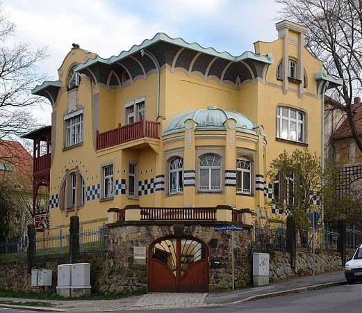 Villa Salzburg Dresden Wohndesign: 1000+ Images About Art Nouveau Architecture On Pinterest