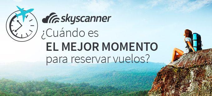 Descubre cuándo reservar tus vuelos para que no te cuesten más de lo que deberían. En Skyscanner hemos investigado precios y tendencias para que tomes nota del mejor momento para comprar vuelos para Londres, París, Nueva York o dónde tú quieras.
