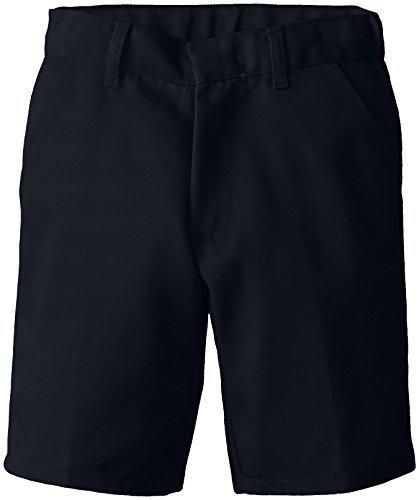(6114) Genuine School Uniforms Boys Pleated Front Short (Sizes 4-16) in Navy Size: 7