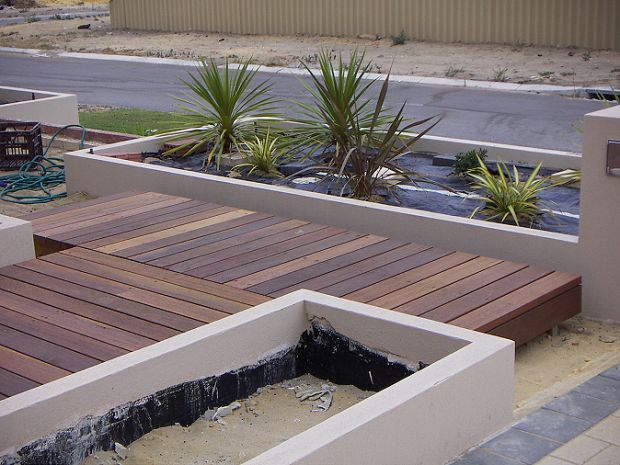 17 best images about garden ideas on pinterest deck for Timber deck construction