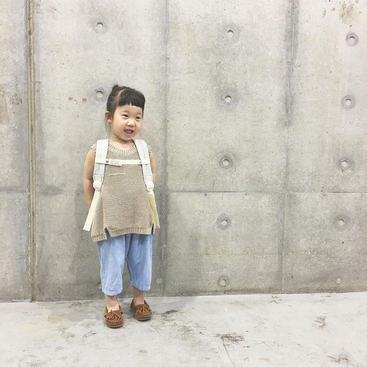 beret bo taro  DAY PACK  チェストベルトも バッチリ装着  #beretbotaro #キッズリュック #保育園準備 #幼稚園準備 #2歳 #3歳 #4歳 #5歳
