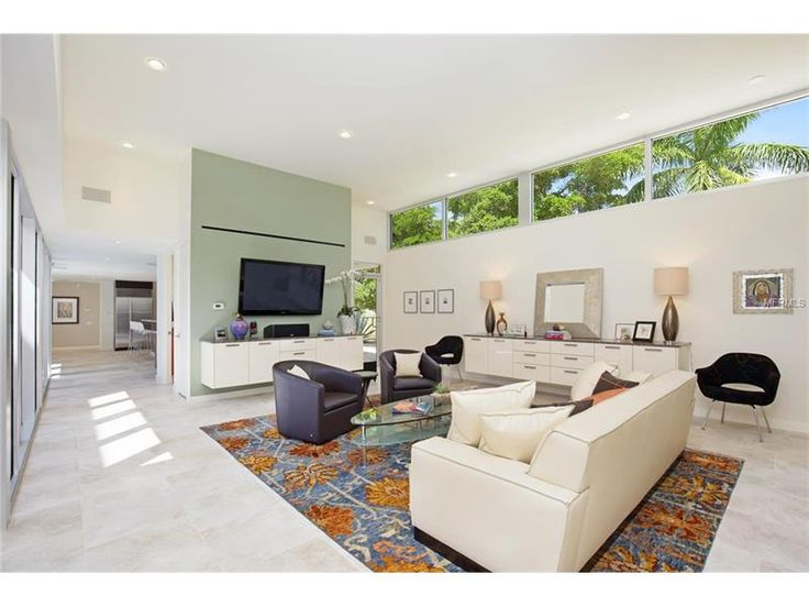 SOLD   Dynamic And Modern Mid Century Modern Home In Lido Shores / Lido Key
