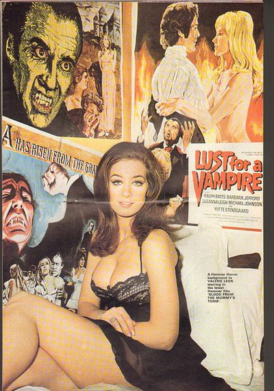 Valerie Leon, from 'Blood From The Mummy's Tomb'.
