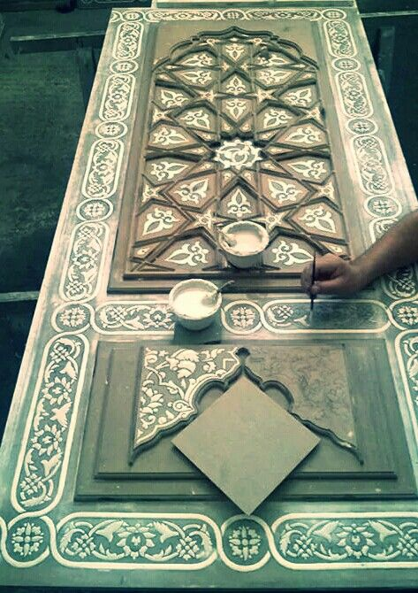 Best Arabesque الزخرفة العربيه MasterCollection Images - Carved wood lace like lighting design inspired islamic decoration patterns
