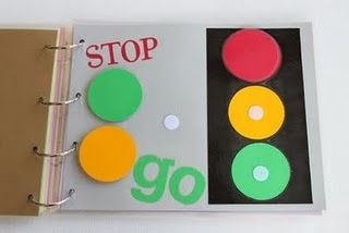 Super easy quiet book... (laminate pages & add velcro to pieces)