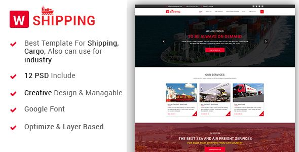 W-Shipping - The Shipping, Cargo, Logistics Industrial PSD Template - Business Corporate Download here : https://themeforest.net/item/wshipping-the-shipping-cargo-logistics-industrial-psd-template/19659540?s_rank=2&ref=Al-fatih