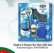 Shick Hydro 5 Power for Him Gift Set from Walmart $14.00.
