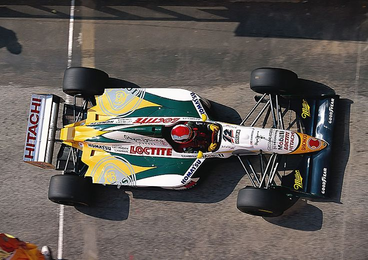 1994 Lotus 109 - Mugen Honda (Johnny Herbert)